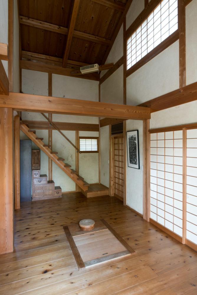 吉井の家 階段